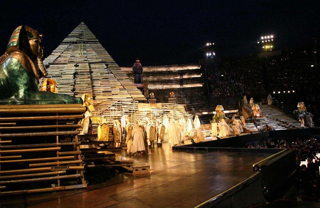 Aida en la Arena de Verona