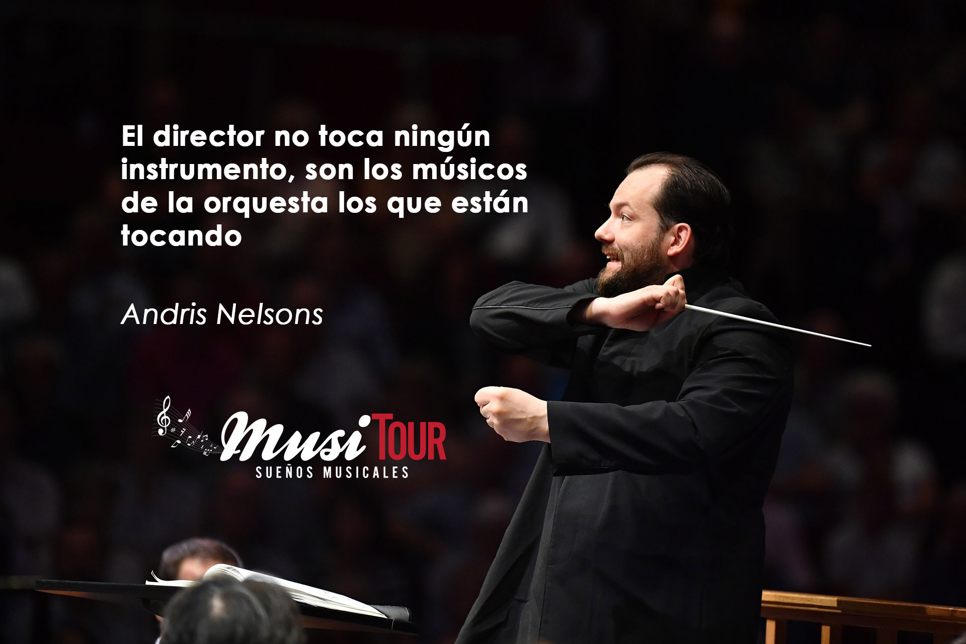 Andris Nelsons, Director de Orquesta