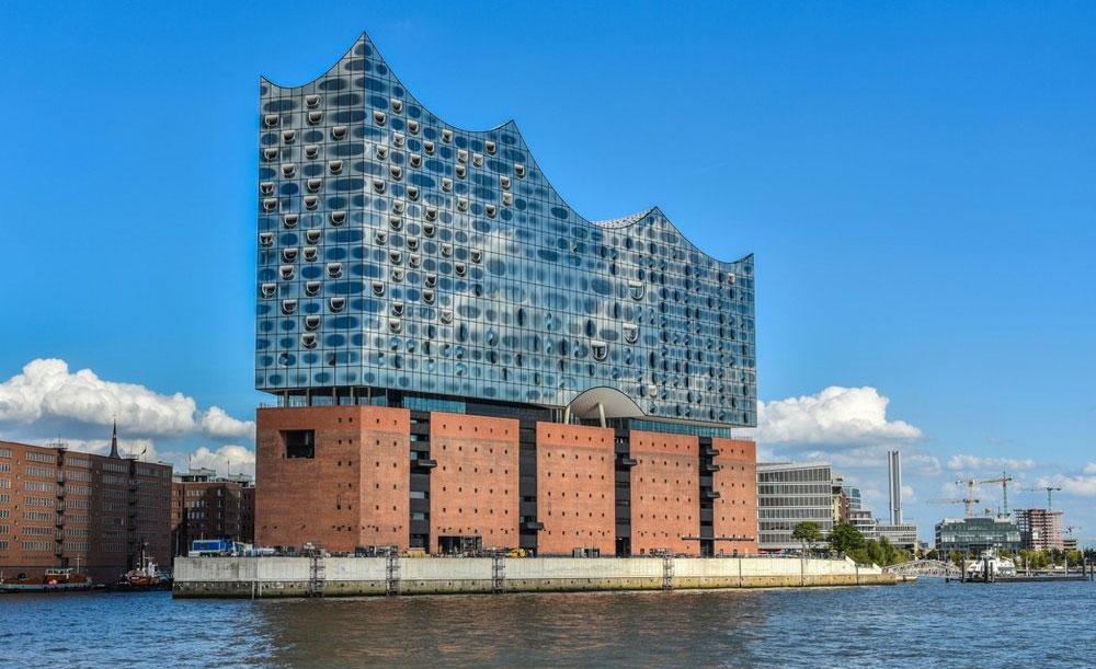 Elbphilharmonie, Filarmónica de Elba en Hamburgo