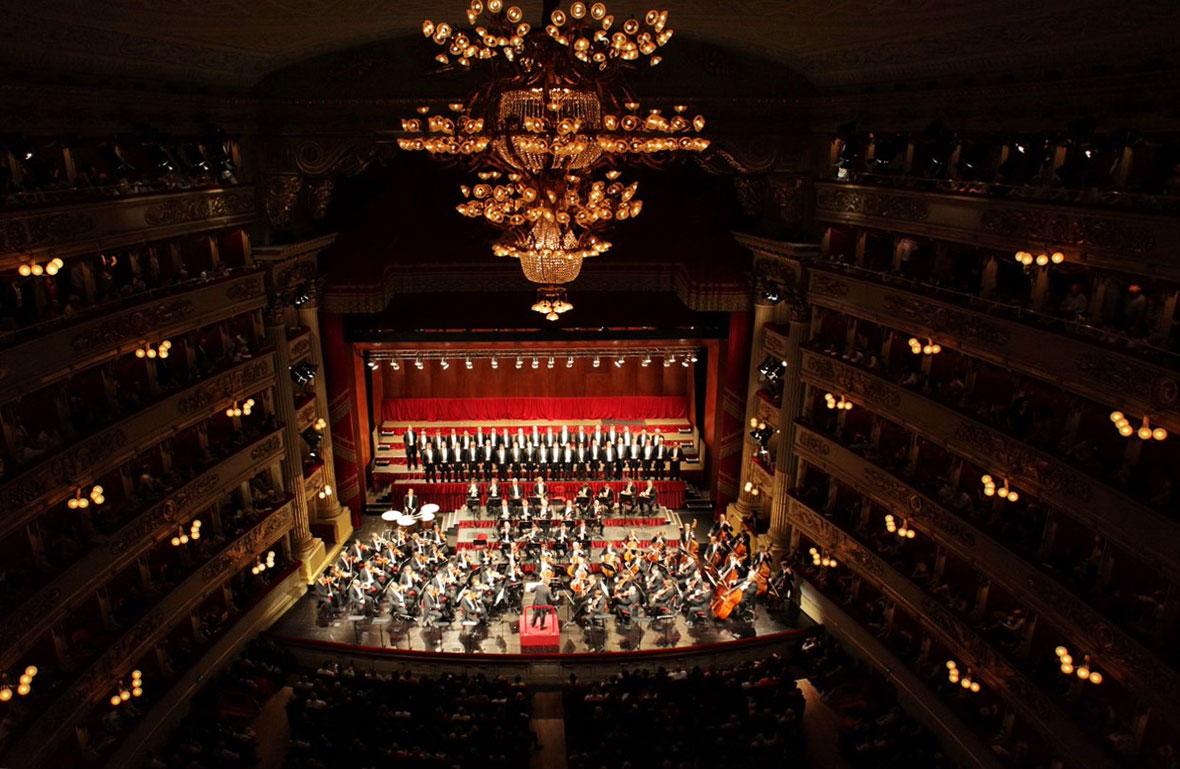 Filarmónica de Viena en el Teatro alla Scala de Milán