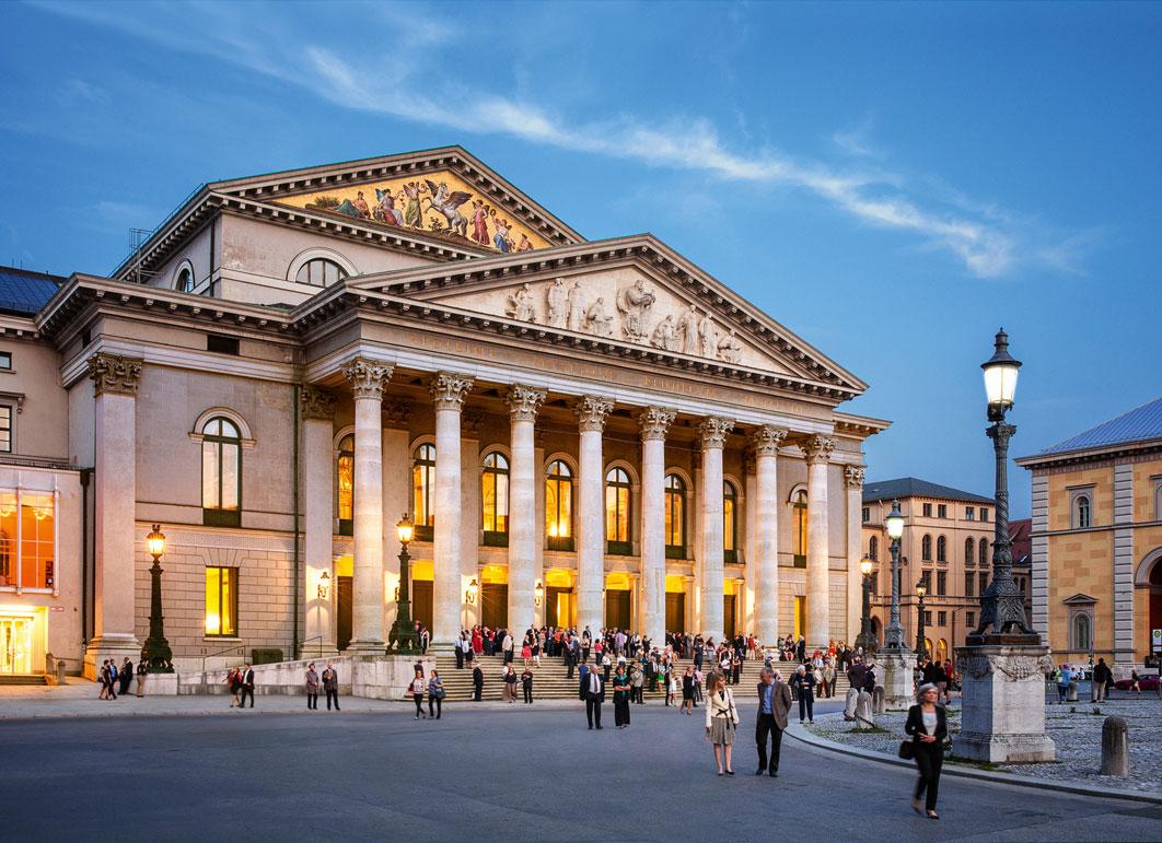 Teatro Nacional de Múnich, Nationaltheater München, sede de la Bayerische Staatsoper