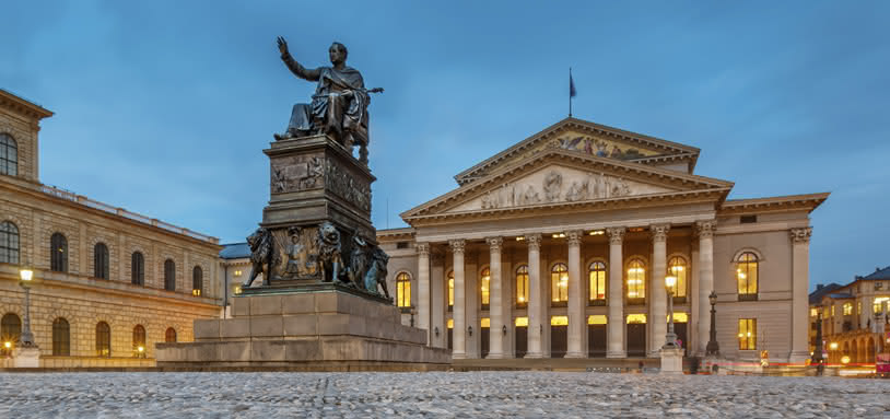 Teatro Nacional, sede de la Bayerische Staatsoper