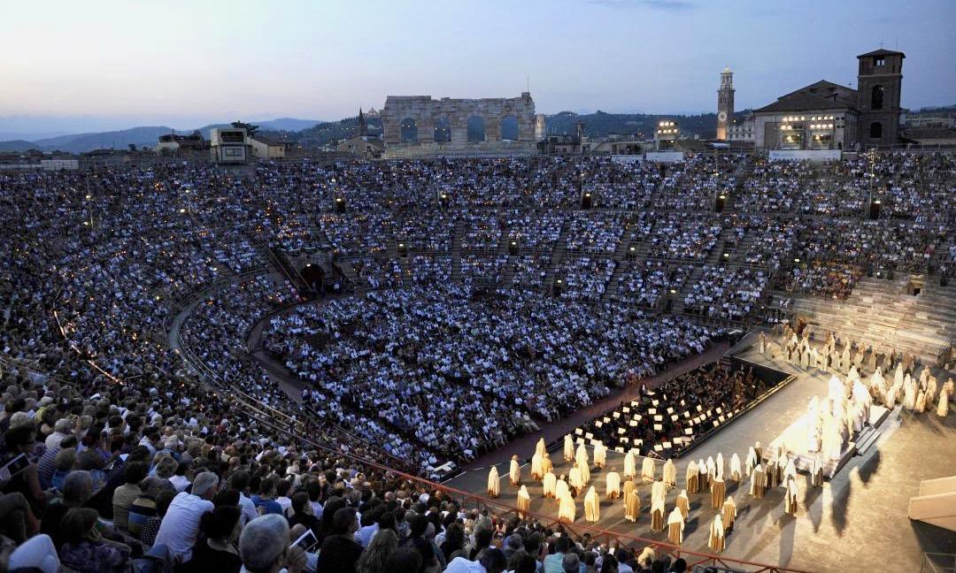 Nabucco en la Arena de Verona