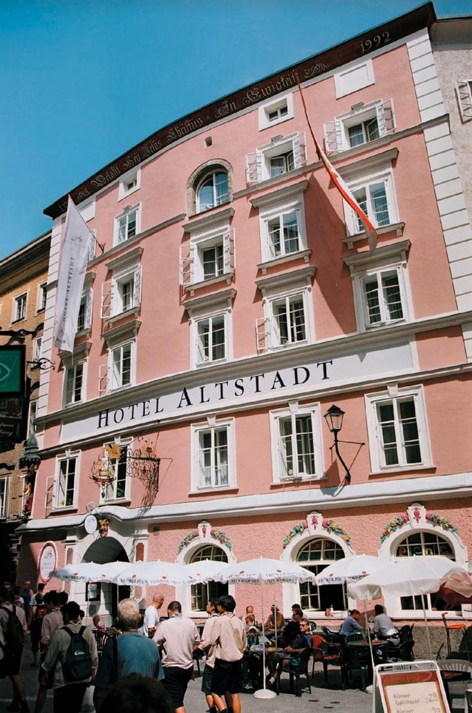 Hotel Radisson Blu Altstadt - Salzburgo 2020
