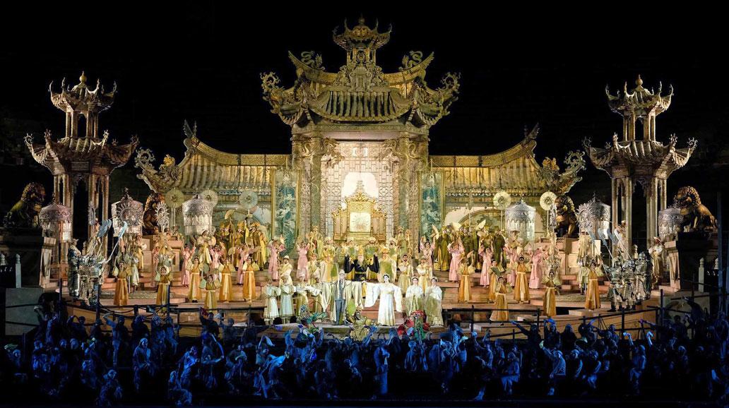 Turandot en la Arena de Verona