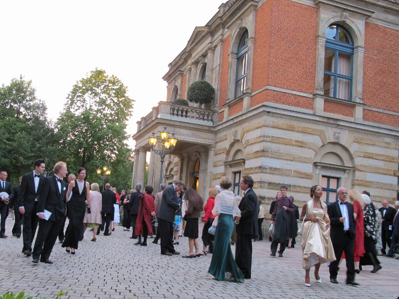 Público en el Festspielhaus