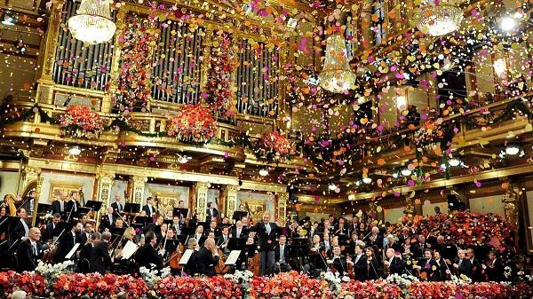 Concierto de año nuevo de la Orquesta Filarmónica de Viena
