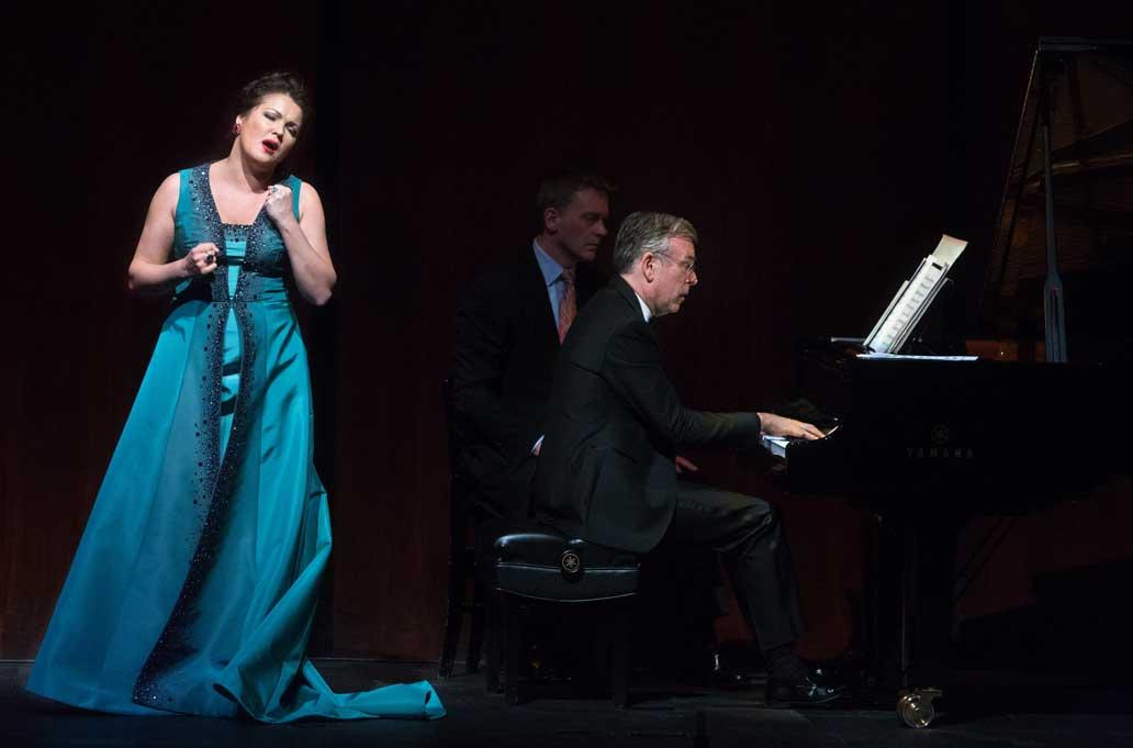 Anna Netrebko con Malcolm Martineau al piano