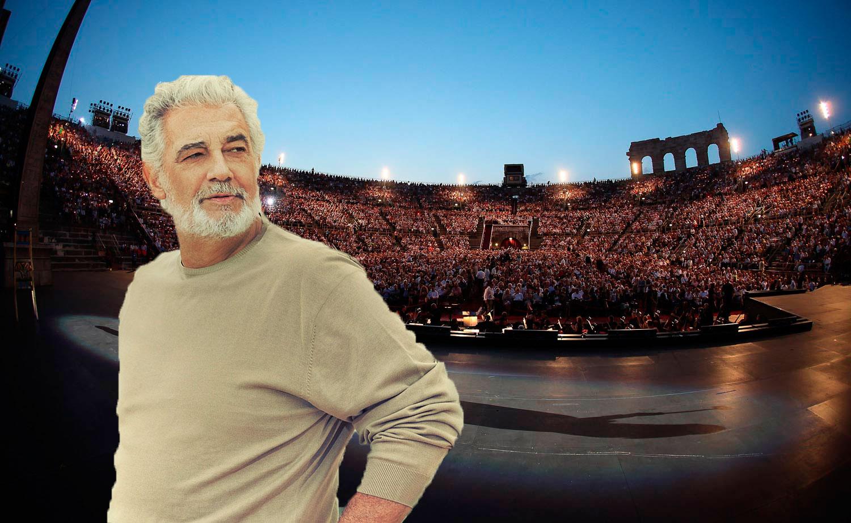 Placido Domingo en la Arena de Verona