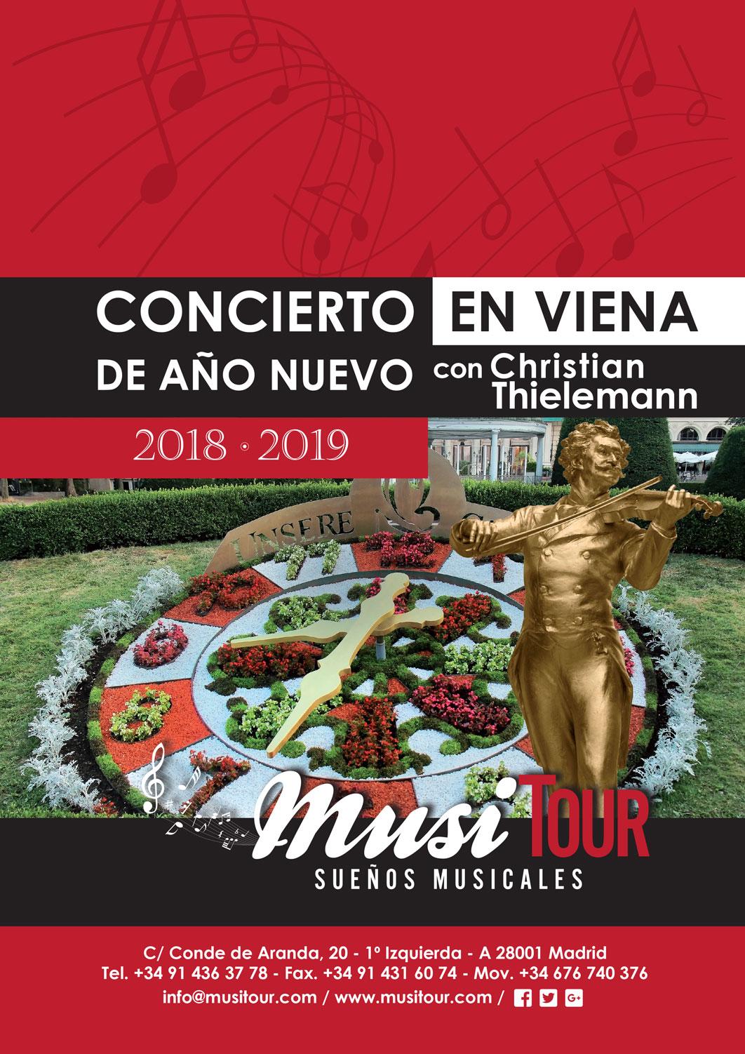 Fin de Año en Viena 2018-2019 con Christian Thielemann