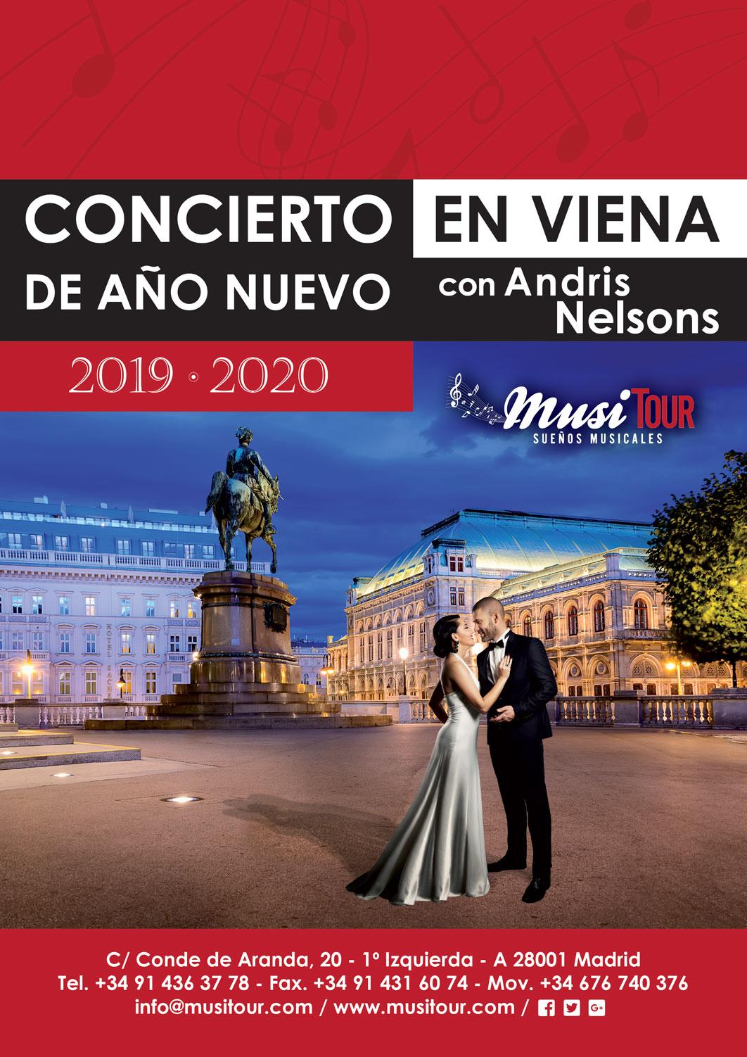 Fin de Año en Viena 2019-2020 con Andris Nelsons